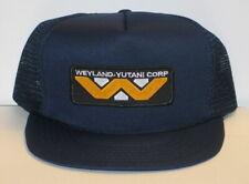 Alien Movie Weyland-Yutani Corporation Logo Patch on a Blue Baseball Cap Hat