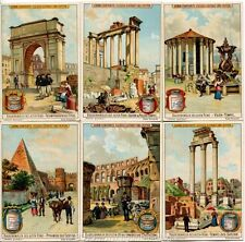Chromo Liebig Sang. 564 TED Monumenti di Roma Antica ANNO 1898