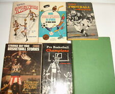 Vintage Young Adult Sports Books 1960's/1970's Baseball Basketball Football