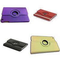 para Apple iPad Mini Piel LISA rotación de 360 grados en varios colores FUNDA
