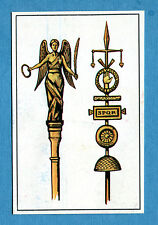 ARMI E SOLDATI - Edis 71 - Figurina-Sticker n. 90 - INSEGNE ROMANE -Rec