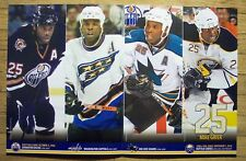 MIKE GRIER - Buffalo Sabres 2010 game poster #8 -Oilers Capitals Sharks 11-13-10