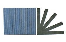 Premium Black Jumbo 80/80 Grit (Blue Center) Washable Beauty Salon Nail Files