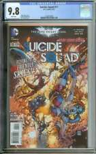 SUICIDE SQUAD #11 CGC 9.8 WHITE PAGES