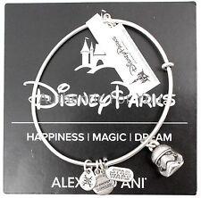 NEW Disney ALEX AND ANI Star Wars Stormtrooper Helmet Silver Charm Bracelet