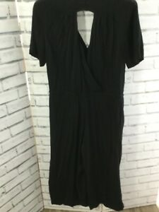 Hush- Black Jersey  Jumpsuit -Size UK 10-VGC