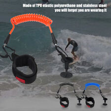 Size Wrist Ankle Padded Safety Equipment Bodyboard Leash Surfing Coil