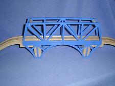 SODOR BAY BRIDGE & ASCENDING TRACKS set Thomas Wooden Railway lot EUC