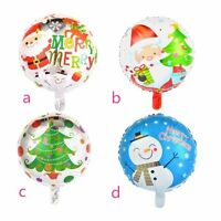 "18"" Inch Blue Father Christmas Foil Helium Party Balloon Xmas Decoration ballon"