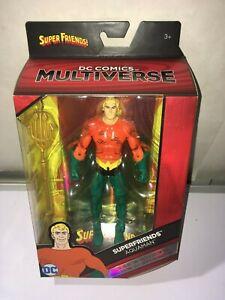 DC Multiverse- Super Friends Aquaman  6 inch action figure  NEW MINT