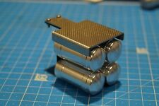 Full metal 1/14 air tanks V3 with mount tamiya frame 1/14 truck SCALE-PARTS