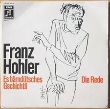 Scarce Franz Hohler Die Rede & Es Barndutsches - Switzerland with Picture Sleeve