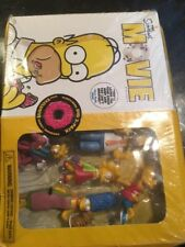 The Simpsons Movie DVD Widescreen Exclusive Family Figurines New Sealed Dented