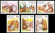 Monaco Scott 1533-1538 (1986) Mint NH VF Complete Set