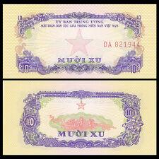 South Vietnam Viet Nam 10 XU, ND(1963), P-R1, banknote, UNC