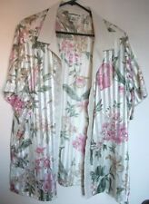 Polyester Hand-wash Only Floral Plus Size Coats & Jackets for Women