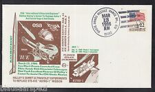 A 41) USA SPECIAL COVER Halley's Comet, Giotto, ESA, Space, NASA, II