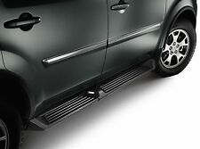 Genuine OEM 2009-2015 Honda Pilot Running Boards-BLACK w/LIGHTS!