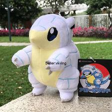 """Pokemon Center Go Sun Moon Alola Sandshrew 7.5"""" Plush Toy Pocket Monsters Doll"""
