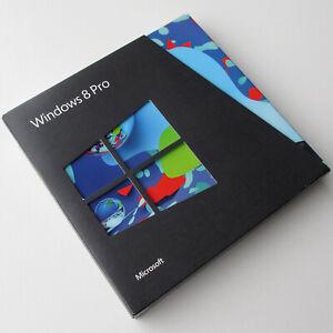 NEW SEALED Microsoft Windows 8 Pro, UK Retail Upgrade box, 32 and 64 bit DVD's