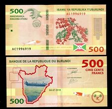 BURUNDI  IN AFRICA, 1 NOTE OF 500 FRANCS , 2018(2019), P-50  UNC FROM BUNDLE