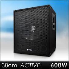 [B-WARE] SKYTEC PA/DJ SUBWOOFER BASS LAUTSPRECHER VERSTÄRKER BOX STUDIO SOUND