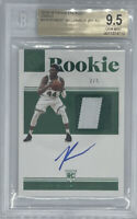 ROOKIE 2019-20 ROBERT WILLIAMS ENCASED GREEN PATCH AUTO RC #2/5 BGS 9.5/10