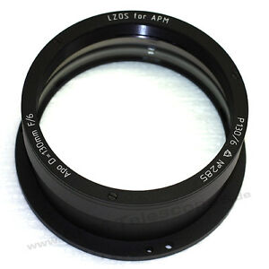 APM - Lzos Apo-Refractors - 130 For / 6 Apochromatic, Lens IN Socket