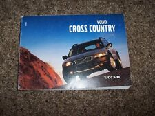 2001 Volvo Cross Country V70 XC Owner Owner's Operator User Guide Manual 2.4L