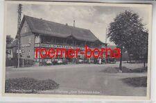 77874 Ak Höhenluftkurort Friedrichsbrunn im Ostharz Hotel Schwarzer Adler um1940
