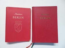 Baedekers voyage Manuel de Berlin, Karl Baedeker, Fribourg 1964