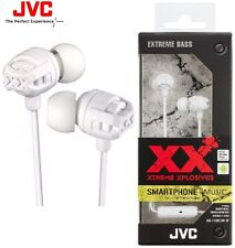 JVC HAFX103MW WHITE Xtreme Xplosives Sweat Proof Headphones w/Remote & Mic /NEW