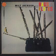 MILT JACKSON: Bags & Flutes LP (Mono, black label original, clean!) Jazz