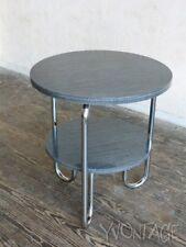 Drabert Schlaufentisch Stahlrohr Beistelltisch Tisch Bauhaus 50er 60er