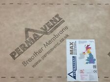 PERMAVENT MAX - BREATHER MEMBRANE - BREATHABLE ROOFING FELT - 1m x 50m Roll