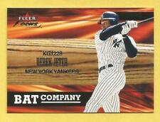DEREK JETER 2001 Fleer Focus Bat Company #6 Yankees