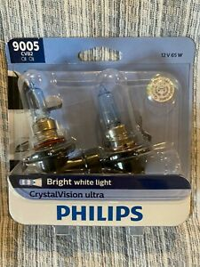NEW Philips 9005 Crystal Vision Ultra 2-Pack 9005CVS2 Bulb
