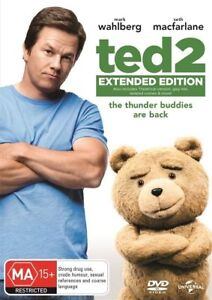 Ted 2 DVD Extended Edition Comedy - Mark Wahlberg - REGION 4 AUST