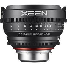 Samyang Xeen 14mm T3.1 Full frame Nikon