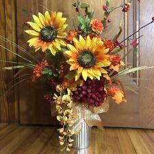Fall Sunflower Floral Arrangement, Table Centerpiece, Fall Centerpiece