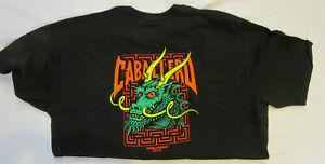 Powell Peralta Steve Caballero Street Dragon Bones Brigade T Shirt BLACK NEW XL