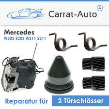 Mercedes W203 W211 Türschloss REPARATUR  Federn+Getrieben für 2 Schlösser MB