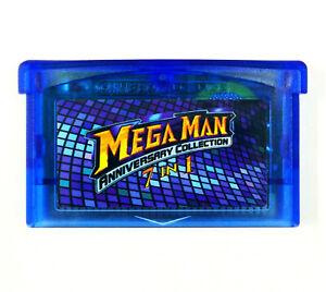 Mega Man Anniversary Collection GBA Gameboy Advance 2 3 4 5 II IV V Xtreme Mania