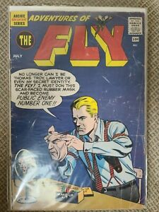 Adventures Of The Fly #7 1st Appearance Blackhood