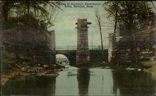 Billerica MA Aquaduct Ruins Shawsheen River c1910 Postcard