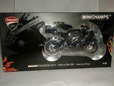 Minichamps Ducati Desmosedici Gp11 V. Rossi Valencia Test 2010 1/12 122110876
