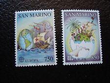 SAINT-MARIN - timbre yvert/tellier n° 1301 1302 n** MNH (COL3)