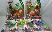 6 Jurassic World Playskool Heroes Dinosaur Figures Spinosaurus Pterodactyl Lot