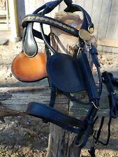 Black Leather Pleasure Driving Harness Cob size, A &H Harness/Tack Co. $1095