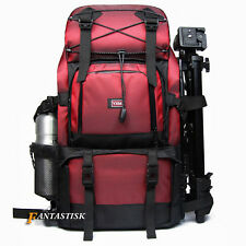 "Professional Waterproof DSLR Camera Backpack Shoulder Bag 17"" Laptop Rucksack"